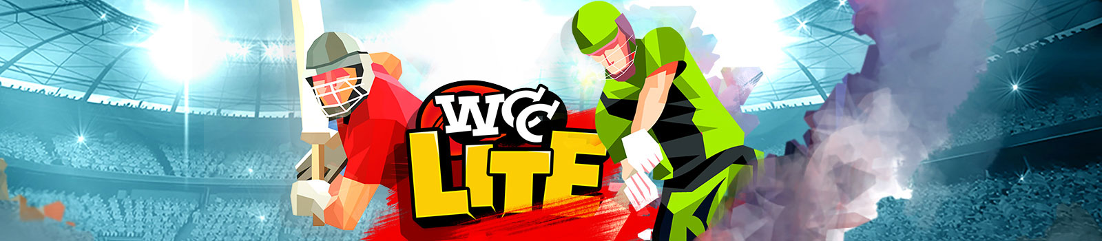 WCC Lite is a fun, lightweight, full 3D mobile Cricket Game with action-packed modes.